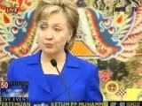 Hillary Clinton visits Indonesia
