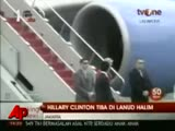 Raw Video: Clinton Arrives in Indonesia