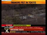 Tsunami hits Japan Business goes down